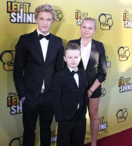 Stars Attend 'Let It Shine' Premiere