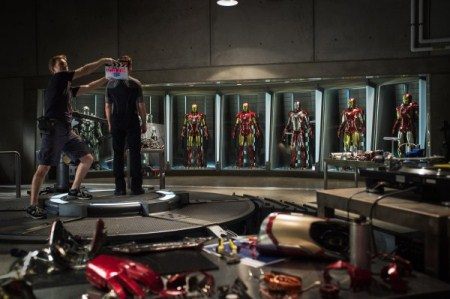 Official Iron Man 3 Set Photo