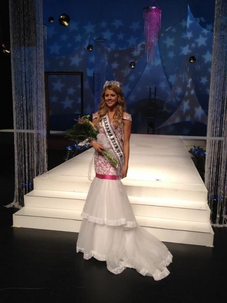 Miss Teen USA Peyton Brown Wins First Competition