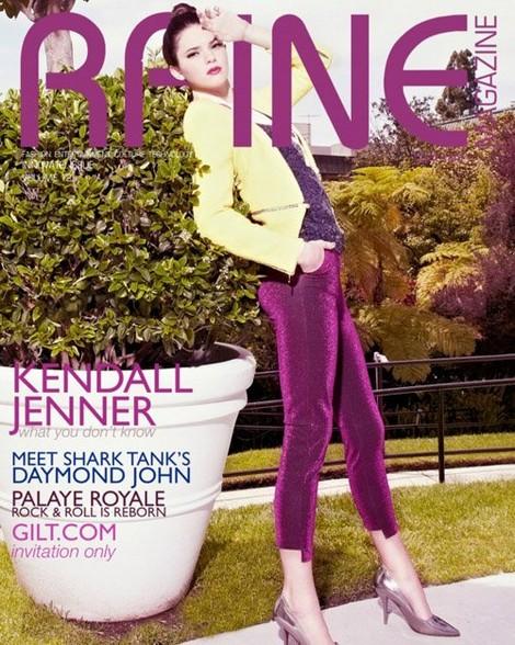 Kendall Jenner Covers Raine Magazine (Photo)