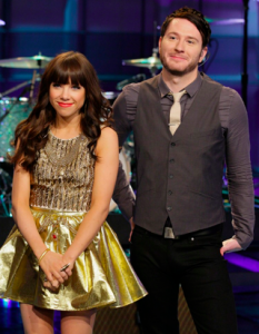 Carly Rae Jepson Performs with Owl City