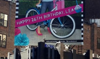 Retweet Lea Michele's Birthday Message From Candies To Help Raise Awareness Of Teen Pregnancy