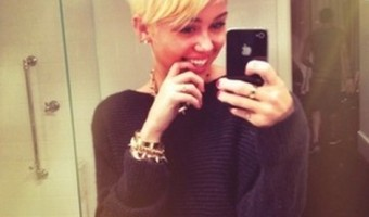 Miley Cyrus Debut's A Very New – And Very Short Haircut (Photo)