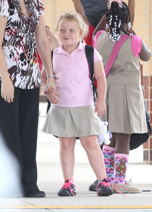 Honey Boo Boo's Messy School Day