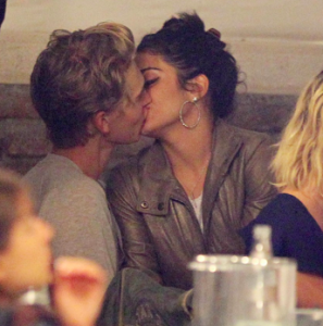 Vanessa Hudgens and Austen Butler Get Cozy in Venice