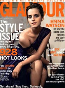 Emma Watson Covers Glamour UK