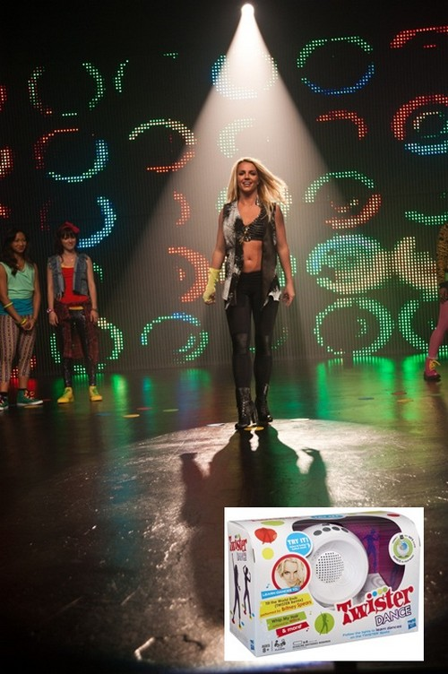"Review & Giveaway: Britney Spears' Teams With Hasbro For New ""Twister Dance"" Game"