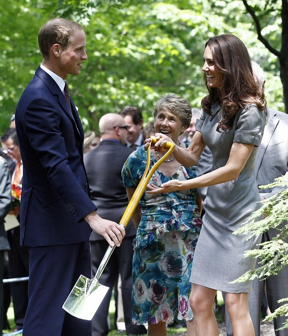Kate Middleton Teaches Us How To Be Princesses -- By Gardening