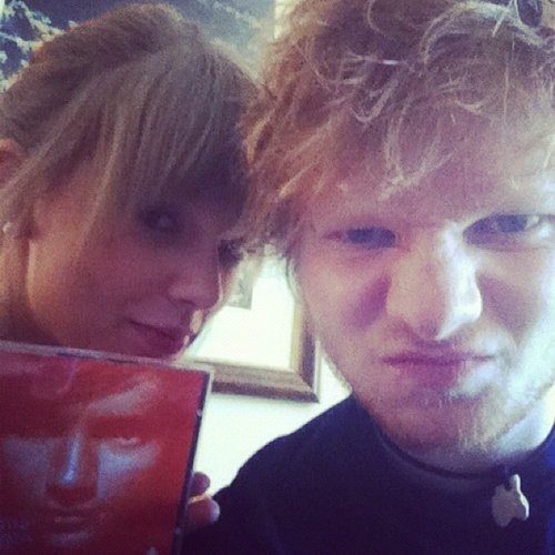 Taylor Swift Announces Ed Sheeran Will Open During Her 'Red' Tour, Budding Romance?