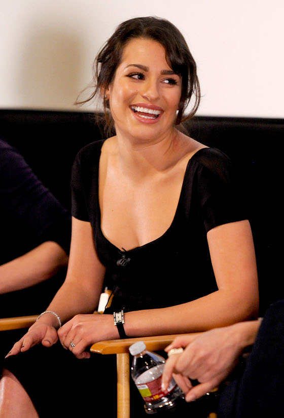 Glee Star Lea Michele Confesses: I'd Rather Sing Naked Than Dance!