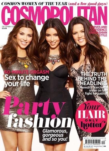 Kardashias cover Cosmopolitan