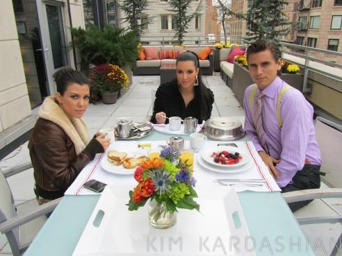 Kim Kardashian Says Kourtney Is Not Engaged To Scott Disick