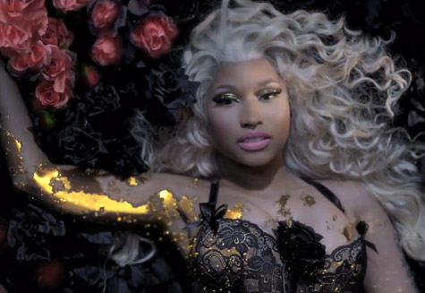 Nicki Minaj Debuts New Fragrance Commercial
