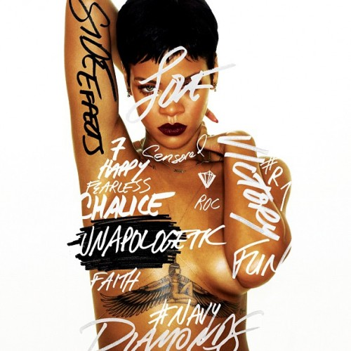 Rihanna reveals Unapologetic tracklist