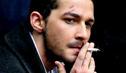 shia labeouf gets into altercation in london