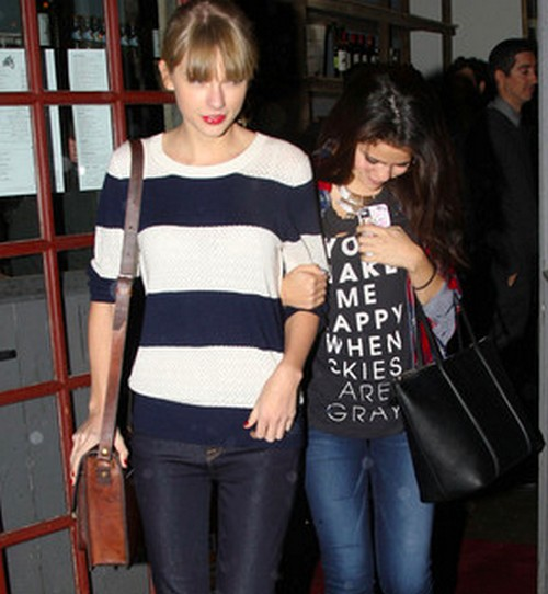 Taylor Swift and Selena Gomez - BFF Dinner Date