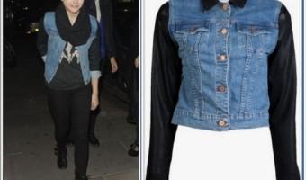 Celeb Teen Style: Chloë Moretz Wearing A J Brand Jacket