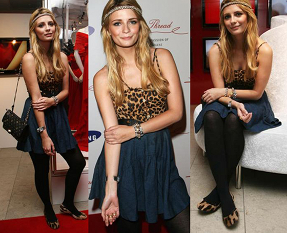 "Style Icon Mischa Barton Gives Fashion Tips, ""Fit Trends To You"""
