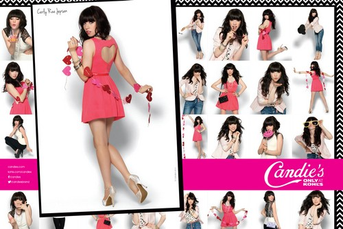 CANDIE'S unveils its new Spring 2013 campaign With Carly Rae Jepsen (PHOTOS HERE)