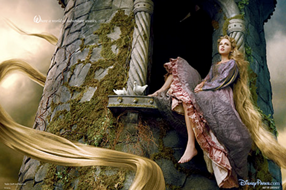 Taylor Swift New Disney Princess Rapunzel