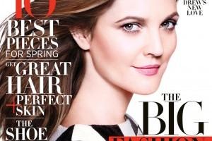 Drew Barrymore Looks Fabulous On Harper's Bazaar  Cover & Other News