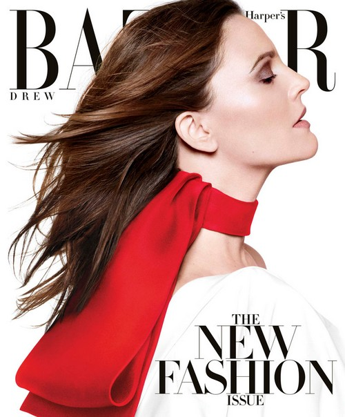 Drew Barrymore Looks Fabulous On Harper's Bazaar  Cover & Other News