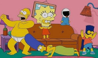 The Simpsons Tackle The Harlem Shake Dance Craze