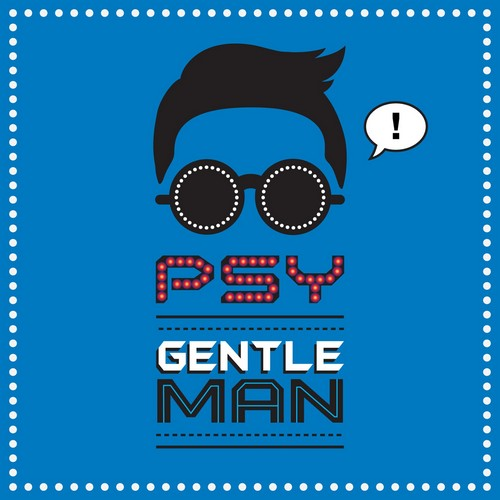 Psy-Gentleman-Single-Album-Cover
