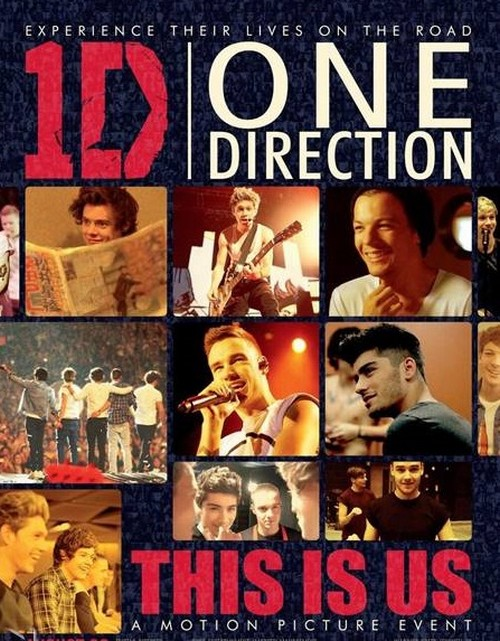 "One Direction ""This Is Us"" Movie Poster Released (Photo)"