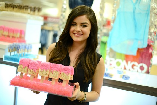 Lucy Hale Hosted A Bongo Party (Photos)