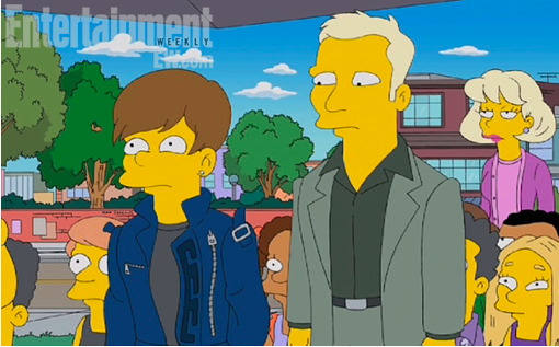 Justin Bieber's Coming to The Simpson's This Week