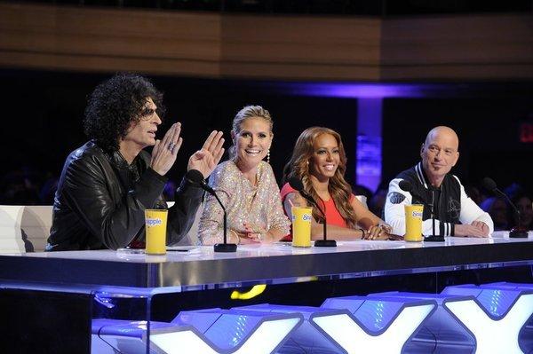 Heidi Klum Hates America's Got Talent's Howard Stern