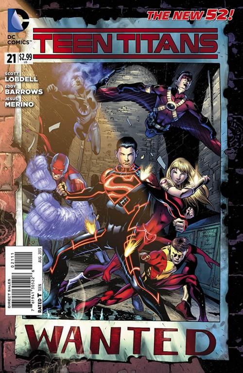 "DC Comics ""Teen Titans"" Issue 21 Sneak Peak"