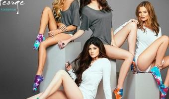Kendall Jenner & Kylie Jenner Promote Rob Kardashian's Sock Line (PHOTO)