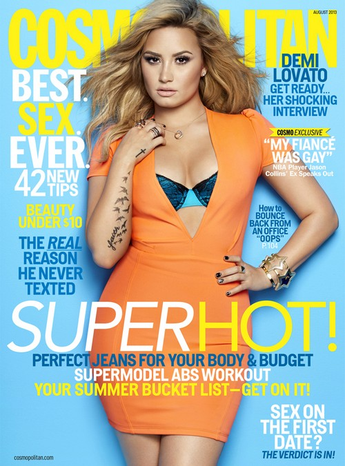 Demi Lovato Reveals To Cosmo She Has Been Suicidal Since A Child