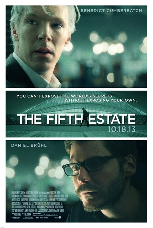 "New Poster For DreamWorks ""The Fifth Estate"" Released (SEE HERE)"