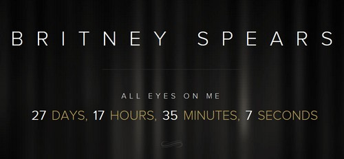 Britney Spears Put Up A mysterious Coutdown Clock Up on Her Website - What Could it mean