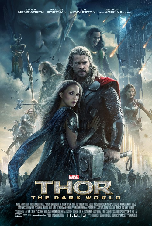 New U.S. Poster for Marvel's Thor: The Dark World (Photo)