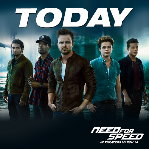NEED FOR SPEED - today
