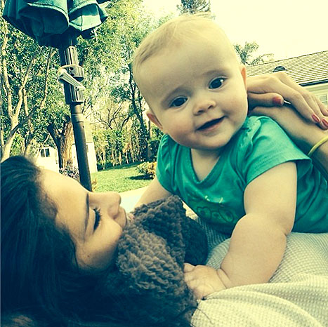Selena Gomez Instagrams With Baby Sister--Deflection From Her Relationship With Bieber?