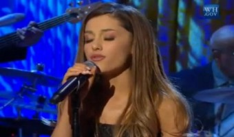 Ariana Grande Performs Whitney Houston Song For President Obama At White House (VIDEO)