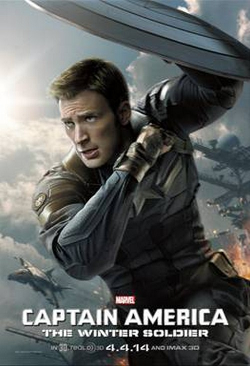 Captain America: The Winter Soldier New Video and Coloring Sheets