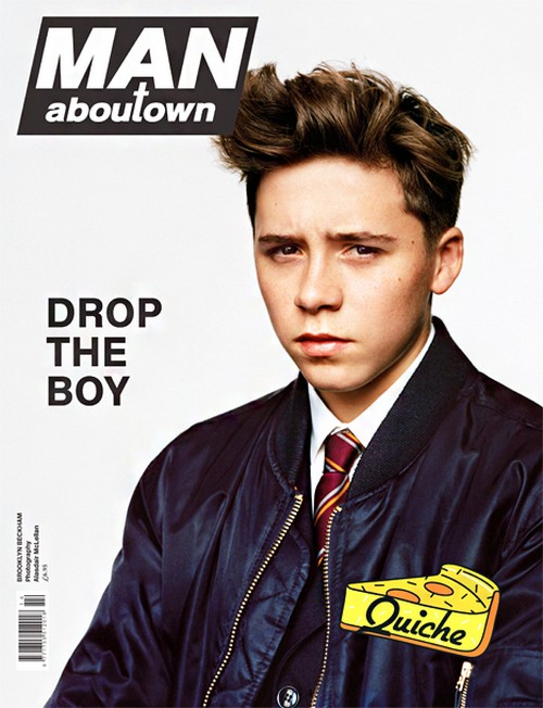 Brooklyn Beckham's Modeling Debut: Covers Man Aboutown Magazine