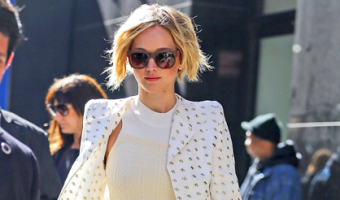 Jennifer Lawrence Grew Her Haircut Out–YESSSS!!!