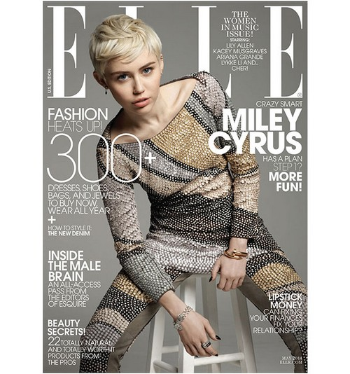 Miley Cyrus Covers Elle, Discusses Disney and Liam Hemsworth