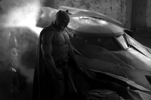 First Photo Of Ben Affleck As Batman Released To The Public - SEE HERE!