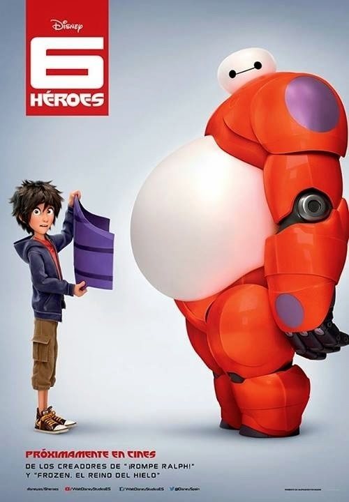 "Disney Teases ""Big Hero Six"" Movie Posters"