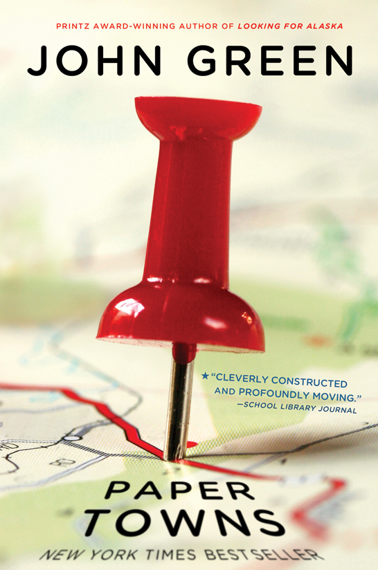 John Green's Paper Towns is Headed To the Big Screen