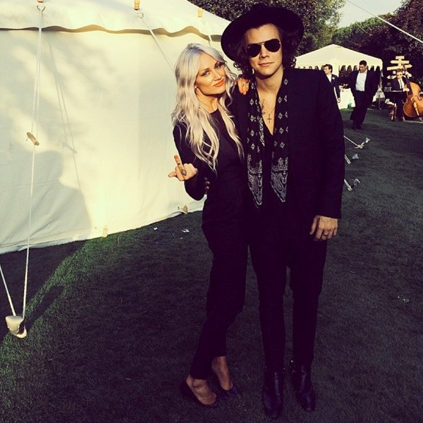 Harry Styles Attends Bandmate's Mother's Wedding