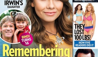 Bindi Irwin Says Time Doesn't Heal the Loss Of Her Father Steve Irwin (PHOTO)